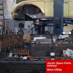 On behalf of our client based in West Offaly, we are recruiting for Junior Spare Parts Advisor for a permanent role. Previous experience is preferable but full training will be provided also Retail Customer, Spare Parts, Training, Education, Exercise, Workouts, Physical Exercise