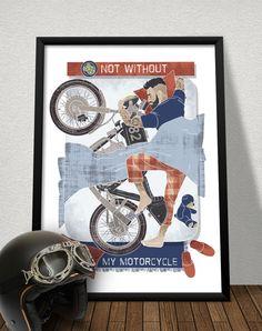 STYLOGRAPHIC - Danilo De Donno - www.danilodedonno... © ALL RIGHT RESERVED #illustrator #poster #hipster #tattoo #biker #motorbike #motocycle #moto #motor #caferacer #caferace #vintage #sleeping #sleep #lovemoto #passion #beard #designer #tshirt #print #digitalprint #digitalart #art #artist #dream #racer #bike #man #graphic #graphicdesign
