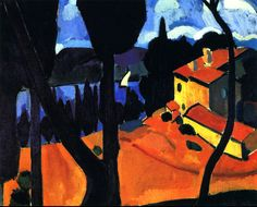 """The Bay of Martigues"", 1908 by André Derain."