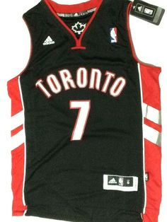 Toronto Raptors Basketball Jersey Kyle Lowry  7 Size Large Shirt Black  Colour Kyle Lowry 67fa80c88
