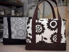 Check out this free tote bag pattern from J Caroline Creative!  It's designed for heavy use, with extra fabric reinforcing the botton and straps that won'trip off.  Get the pattern, and…