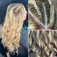 Mel hasn't had her hair done for a long time but went all out with a new look 💕 Ice Blonde Hair, Long Curls, Plaits, Her Hair, Braided Hairstyles, New Look, Dreadlocks, Hair Styles, Beauty