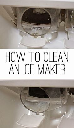 Best DIY Projects: How to clean an ice maker and water dispenser on a refrigerator