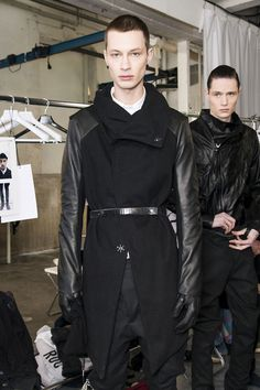 BORIS BIDJAN SABERI AW13 BACKSTAGE #fashion