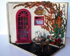 Hand-made miniature scene 1:12 scale Green thumb by Pequeneces