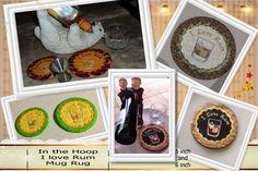 P147-ITH Rum Mug rug