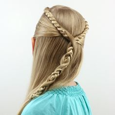 Lauren Conrad Inspired – Half French Braid Wrapped Ponytail