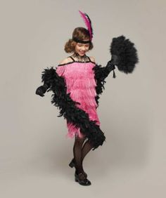 Pink Flapper Costume for Girls | Chasing Fireflies