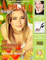 Read the Spring/Beauty issue of Applaud Women magazine available soon at www.applaudwomen.com/ApplaudWomenSpring2012mag.html#/1/