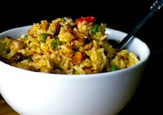 Meatless Monday Spicy Pilaf with Cajun Chickpeas | Meatless Monday #almonds