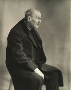 Berenice Abbott - Portrait d'Eugène Atget (1927)