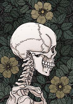 There's nothing... Art Sketches, Art Drawings, Skull Wallpaper, Wallpaper Lockscreen, Skeleton Art, Anatomy Art, Skull Art, Aesthetic Art, Dark Art