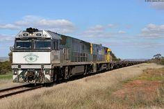 Australia - Freight train NR84 and NR92 between Crystal Brook and Huddleston with 2YN2 by VRfan, via Flickr
