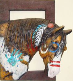 Great Looking Painted Indian Pony.