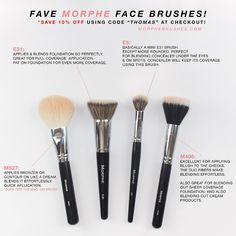 Morphe Brushes (Face)