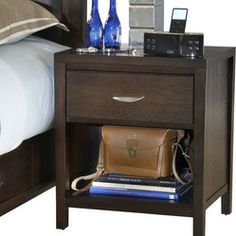 modus bedroom furniture modus urban. Modus Furniture Urban Loft One Drawer Nightstand In Espresso Bedroom I