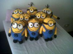 Minion tejido - Crochet - Tejidos de Punto - 493203