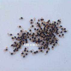 ADD A BEAD: L1 black price : 5 inr per gram