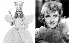 Glinda the Good Witch of the North played by Billie Burke.