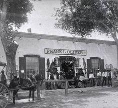 Frank Oliver Store.  Mesilla, NM. 1890.