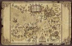 Resultado de imagem para pinterest.com/harry potter e mapa do maroto aberto imprimible