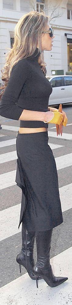 Victoria Beckham #street #style #fashion