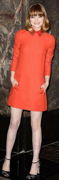 Elle's Fashion Boudoir : Emma Stone in Valentino | New York City