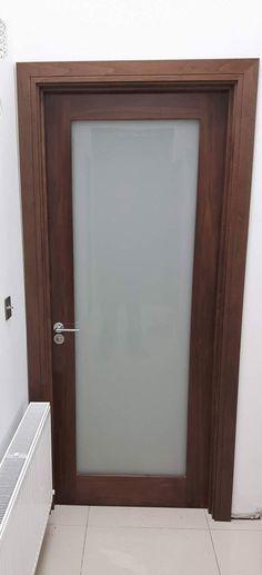 Walnut glass doors By Murphy Larkin