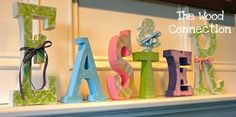 Wooden letters. different purposes!