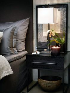 Ideas for Decorating a Dark Bedroom Elegant Interior Design, Home, Elegant Interiors, Home Bedroom, Bedroom Interior, Bedroom Design, Luxurious Bedrooms, House Interior, Apartment Interior