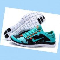 sale retailer 6af00 e4509 Mujer Nike Free Supuesto 3.0 v7 Negro Verde oscuro vOjVs