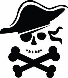pirate stencil - Google Search