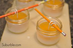 Make Beeswax Candles - Tutorial by Suburble