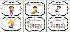 wzór 5 bańki First Day Of School, Back To School, Polish Language, Montessori, Little Ones, Kindergarten, Preschool, Classroom, Teacher