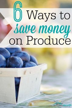Do you struggle to pay for produce because of how expensive it is? I know I do! These are some amazing tips! I'd never even heard of #6, but I can't wait to try it!