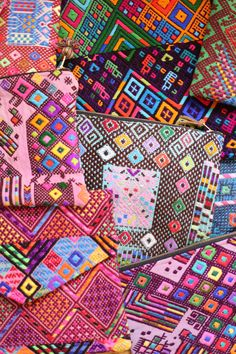 Guatemalan Fabric Bags {The Little Market}