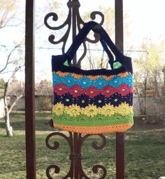 A bright purse to celebrate new Spring flowers.