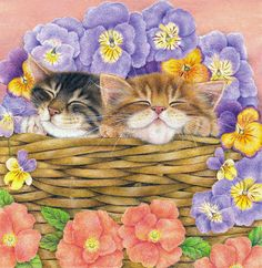 Flower Basket by Anne Mortimer