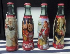 125 years - wrapped glass Coca Cola China limited edition