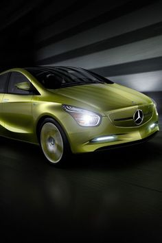 ♂ Car Green Mercedez Concept #vehicle #wheels