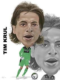 Tim Krul, a great keeper!!