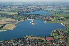 Xantener Südsee von oben, Foto: Freizeitzentrum Xanten GmbH