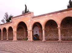Explanada del Cerro de la Bufa, en la ciudad de Zacatecas, Zac.