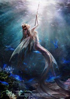 YAS mermaid warriors! I'm glad someone else had that idea besides me.