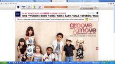 gap #ecommercewebsite design Website Sample, Online Sales, Ecommerce, Gap, Design, E Commerce