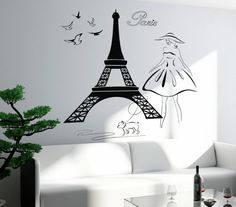 Hey, I found this really awesome Etsy listing at https://www.etsy.com/listing/192292534/wall-stickers-vinyl-decal-eiffel-tower