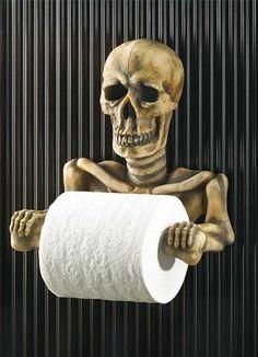 Blog Casa Moderna Skull Bathroom Decor