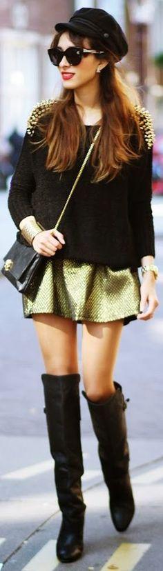 Golden Details by Preppy Fashionist