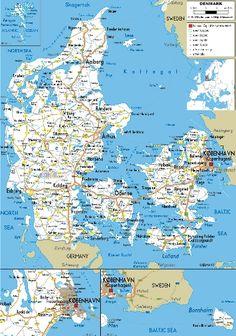 Железные дороги Дании – карта, сайт, фото