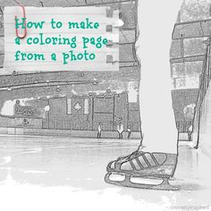 how to make a coloring page from a photo @cleverlyinspired (1)cv